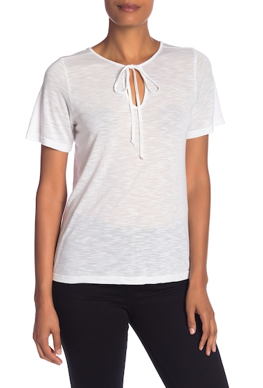 Imbracaminte Femei Michael Stars Front-To-Back Top WHITE