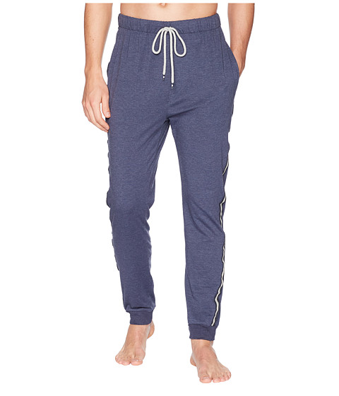 Imbracaminte Barbati Kenneth Cole Reaction Jogger Pants with Side Tape Navy Heather