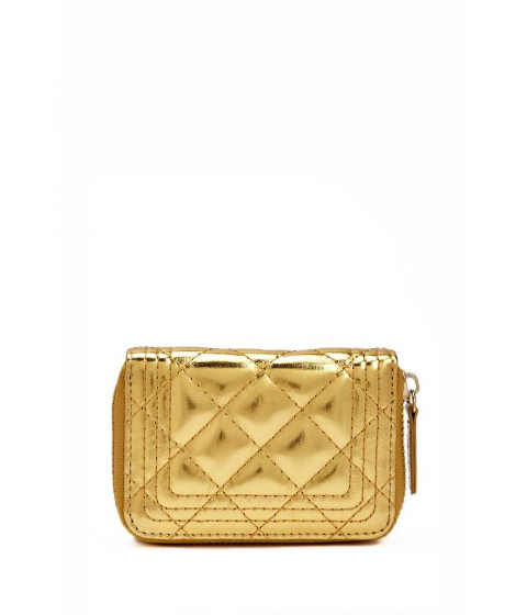Accesorii Femei Forever21 Quilted Mini Wallet GOLD