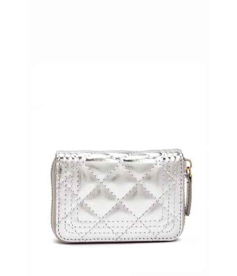 Accesorii Femei Forever21 Quilted Mini Wallet SILVER