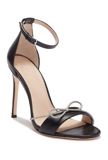 Incaltaminte Femei Pour La Victoire Elanna Leather Bow Sandal BLACK
