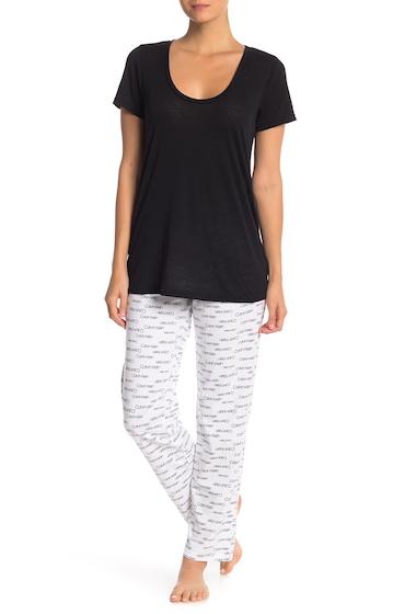 Imbracaminte Femei Calvin Klein Carousel Logo PJ Pants SLE NEW MOD SIG