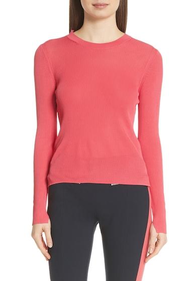 Imbracaminte Femei Rag Bone Sylvie Crew Rib Knit Sweater CORAL