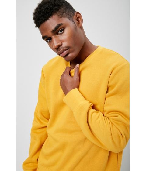 Imbracaminte Barbati Forever21 Boxy Fleece Sweatshirt MUSTARD