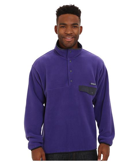 Imbracaminte Barbati Patagonia Synchillareg Snap-Treg Pullover Concord Purple