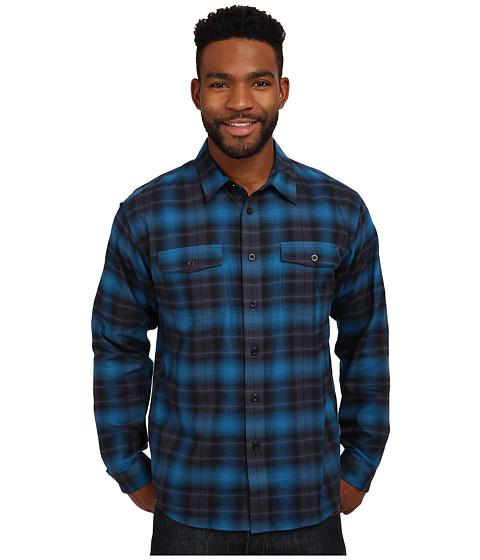 Imbracaminte Barbati Patagonia LS Buckshot Shirt Echoes Smolder Blue