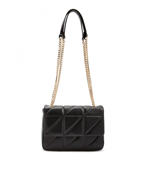 Genti Femei Forever21 Quilted Chain-Strap Shoulder Bag SILVER