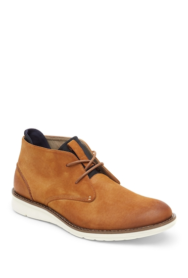 Incaltaminte Barbati Kenneth Cole Reaction Leather Mid Boot TANNAVY