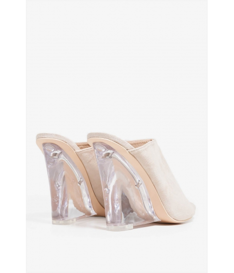 Incaltaminte Femei CheapChic I Can See Clear Now Wedge Nude