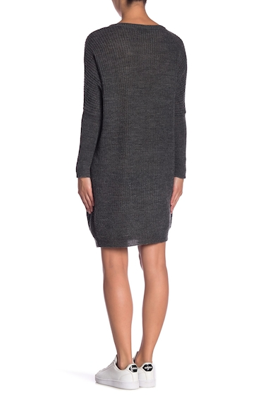 Imbracaminte Femei Solutions Dolman Sleeve Sweater Dress CHARCOAL