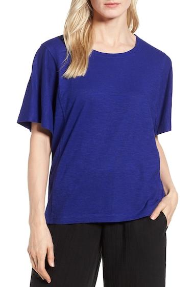 Imbracaminte Femei Eileen Fisher Hemp Organic Cotton Top Regular Petite BLVLT
