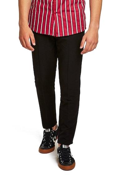 Imbracaminte Barbati TOPMAN Muscle Fit Trousers BLACK