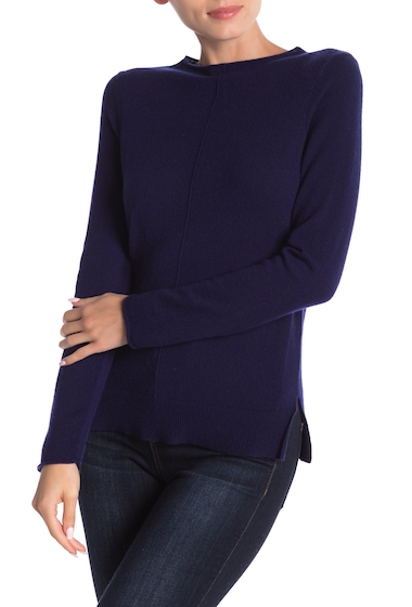 Imbracaminte Femei In Cashmere Cashmere Roll Neck Pullover MIDNIGHT NAVY