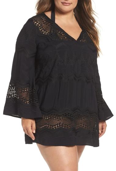 Imbracaminte Femei La Blanca Swimwear Cover-Up Tunic Plus Size BLACK