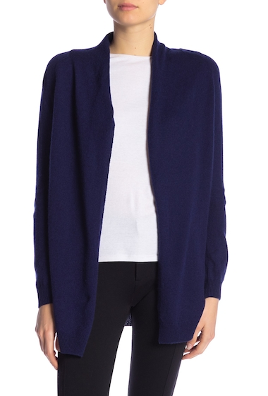 Imbracaminte Femei In Cashmere Open Front Cashmere Cardigan MIDNIGHT NAVY
