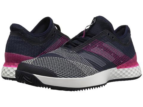 Incaltaminte Barbati adidas Adizero Ubersonic 3 Clay Legend InkWhiteShock Pink