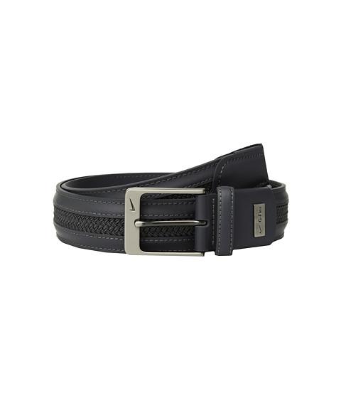 Accesorii Barbati Nike LeatherWoven G-Flex Dark Grey