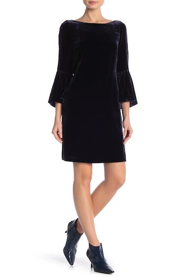 Imbracaminte Femei Lafayette 148 New York Marissa Velvet Dress RAISIN
