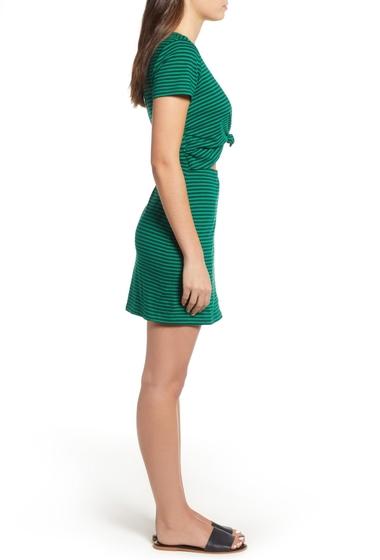 Imbracaminte Femei Socialite Knot Front Cutout Dress EMERALD NAVY