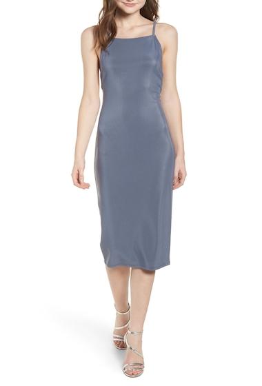 Imbracaminte Femei Leith Strappy Bodycon Dress GREY GRISAILLE