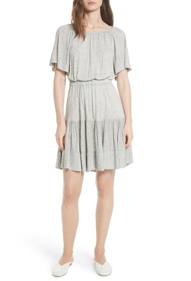 Imbracaminte Femei Rebecca Taylor Ruffle Back Cutout Dress GREY MELAN