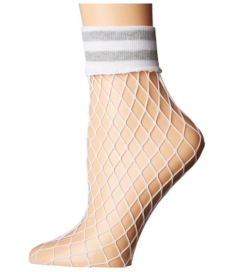 Imbracaminte Femei Steve Madden Varsity Fishnet Anklet White