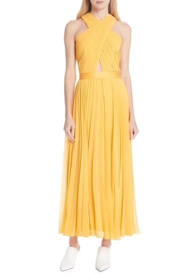Imbracaminte Femei Joie Elenita Pleated Chiffon Dress CORNSILK