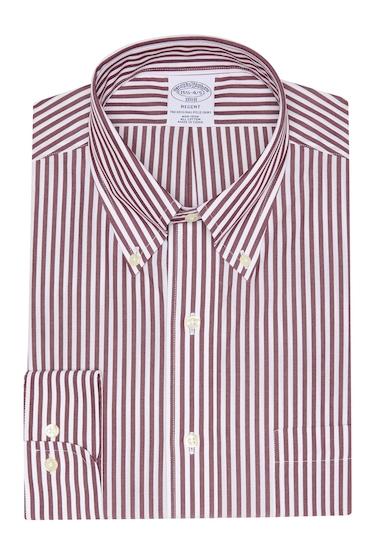 Imbracaminte Barbati Brooks Brothers Regent Fit Dress Shirt DARK RED