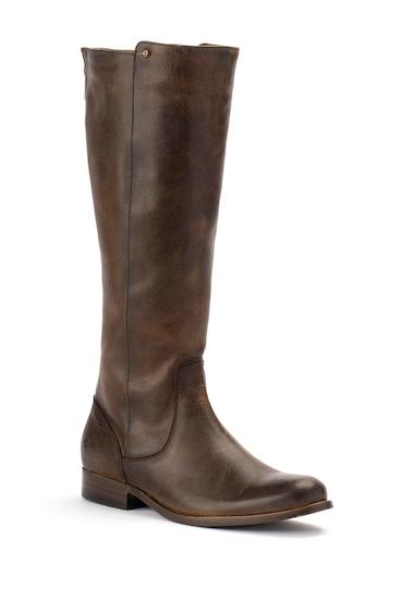 Incaltaminte Femei Frye Melissa Leather Tall Boot CHOCOLATE EXTENDED