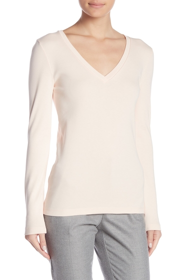 Imbracaminte Femei J Crew Perfect Fit Long Sleeve Tee SUBTLE PINK