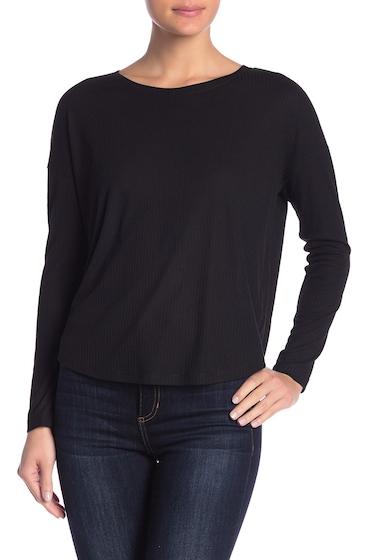 Imbracaminte Femei Abound Drop Shoulder Long Sleeve Tee BLACK