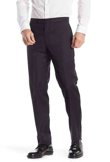 Imbracaminte Barbati Calvin Klein Solid Tux Pants - 30-34 Inseam BLACK