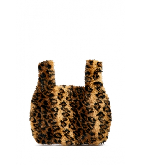 Genti Femei Forever21 Leopard Print Tote Bag TANMULTI