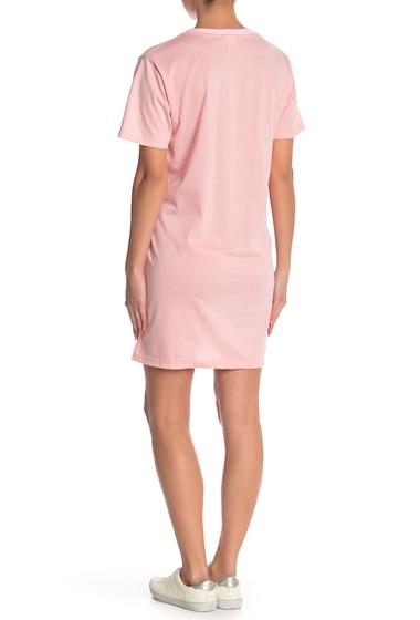 Imbracaminte Femei Cotton Emporium Solid T-Shirt Pocket Dress BLUSH
