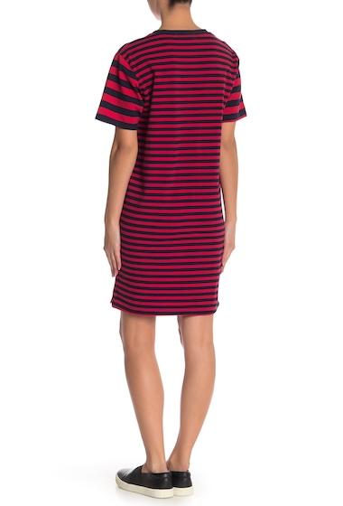 Imbracaminte Femei Cotton Emporium Variegated Stripe Dress RED