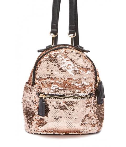 Genti Femei Forever21 Sequin Mini Backpack BLUSH
