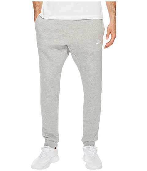 Imbracaminte Barbati Nike Sportswear Fleece Jogger Dark Grey HeatherWhite