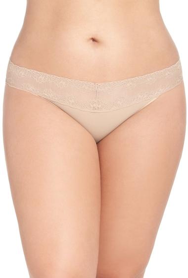Imbracaminte Femei Natori Bliss Perfection Bikini Plus Size CAFE