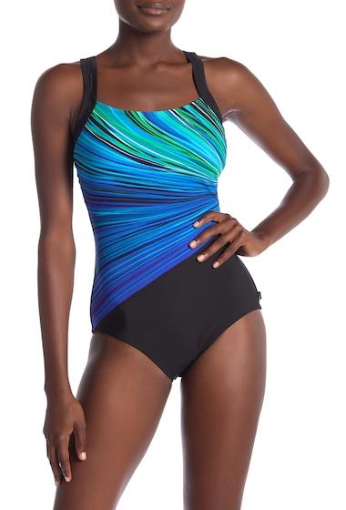 Imbracaminte Femei Reebok Fire Water One-Piece Swimsuit BLU