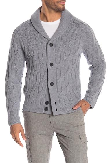 Imbracaminte Barbati Theory Merino Wool Button Sweater STONE GRY