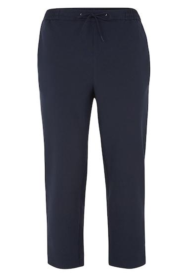 Imbracaminte Barbati TOPMAN Cropped Slim Fit Jogger Pants DARK BLUE MULTI