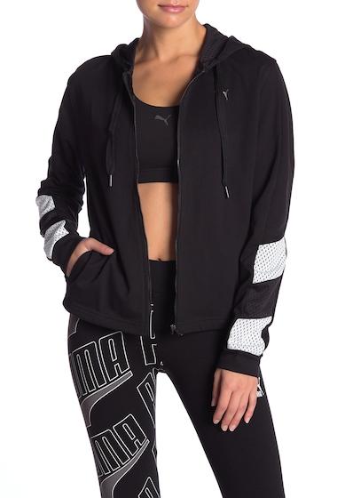 Imbracaminte Femei PUMA ACE Zip Front Jacket BLACK