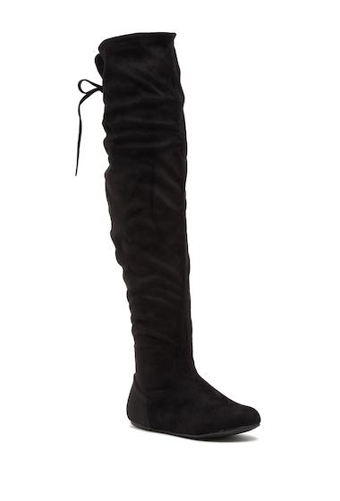 Incaltaminte Femei Top Moda Wonder Over-The-Knee Boot BLACK