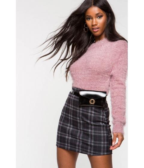Imbracaminte Femei CheapChic Priscilla Plaid Mini Skirt Red Pattern