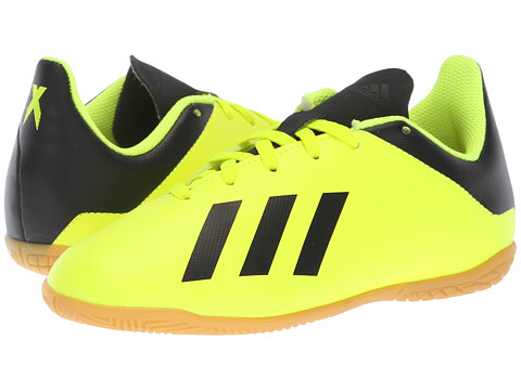 Incaltaminte Fete adidas X Tango 184 IN Soccer (Little KidBig Kid) Solar YellowBlackSolar Yellow