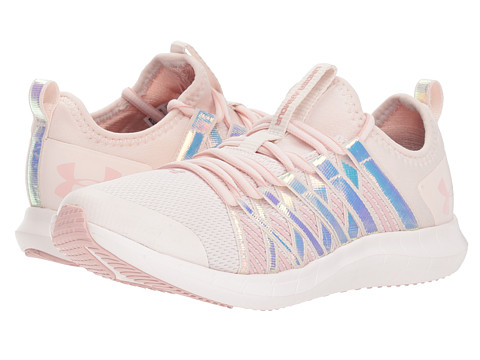 Incaltaminte Fete Under Armour UA GGS Infinity HG Wide (Big Kid) French GrayFrench GrayFlushed Pink