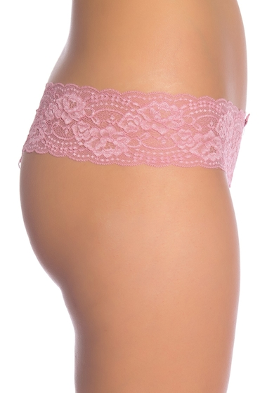 Imbracaminte Femei Skarlett Blue Obsessed Lace Thong ANTIQUE ROSE