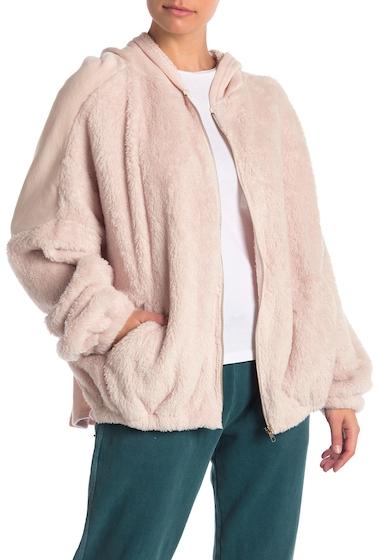 Imbracaminte Femei Vintage Havana Faux Fur Front Zip Up Hoodie CHMP