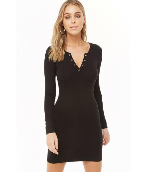 Imbracaminte Femei Forever21 Mini Sweater Dress BLACK