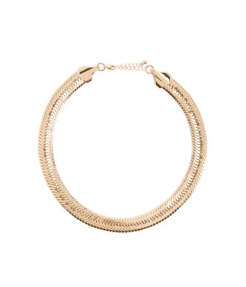 Bijuterii Femei Forever21 Snake Chain Collar Necklace GOLD